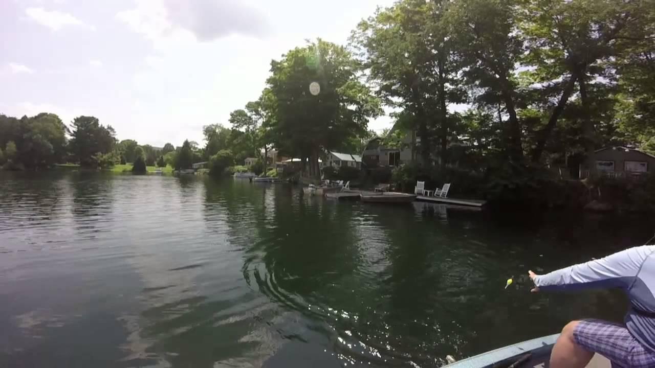 Lake Moraine Ny Bass Fishing 7 13 15 Youtube