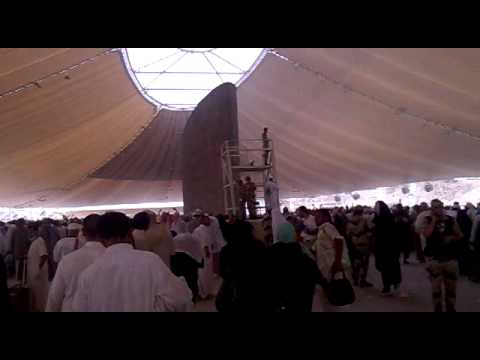 Hajj 2010 :  Stoning of the Devil or stoning of the jamarat