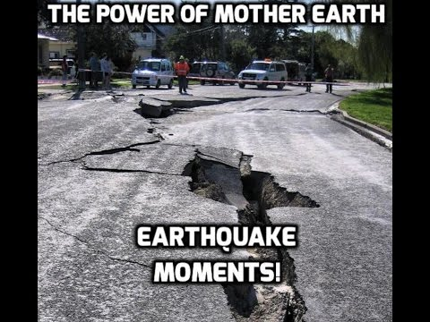 The power of mother earth: Earthquake moments! 🌎