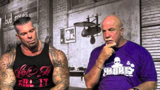 Rich Piana Building Traps, Neck And Shoulders