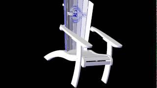 Marine Poly Mp 1020 - Adirondack Chair