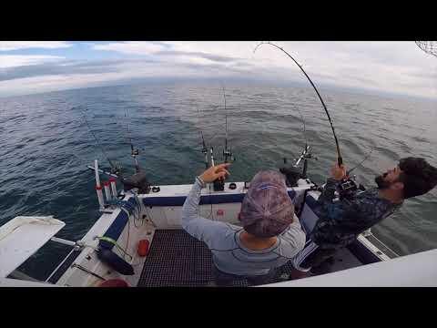 Olcott Salmon Fishing May 31 2018- Niagara ProAm Pre Fishing