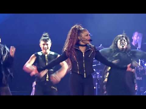 JANET JACKSON - RHYTHM NATION  - STATE OF THE WORLD TOUR - LAFAYETTE, LA 9/7/2017