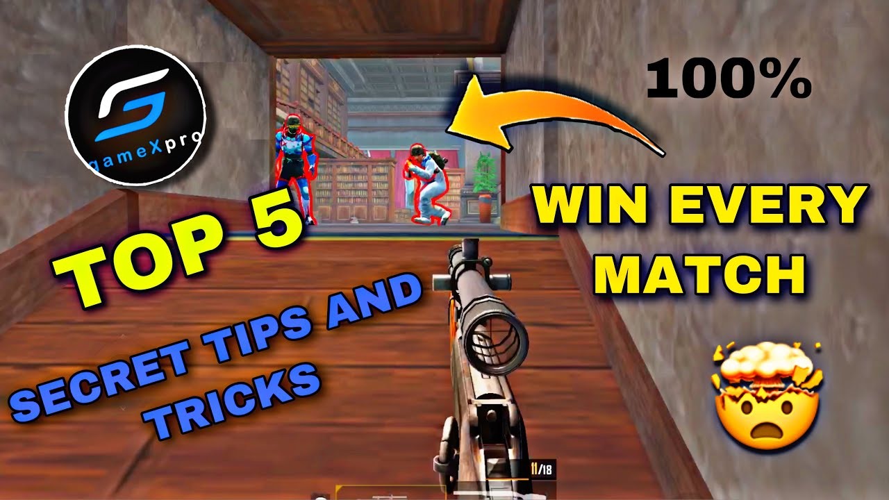 GameXpro said me some Library mode Secret Tips to win every gun game | no one knows this | OP Mrimay