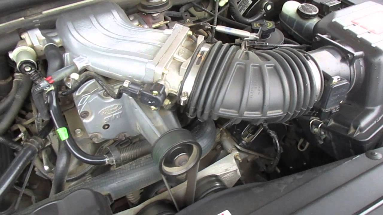 2002 silver ford lightning engine youtube