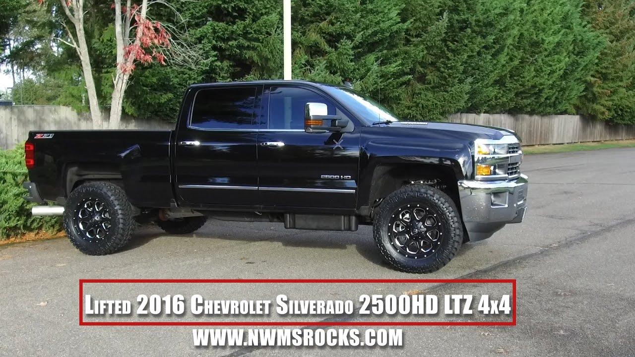 Lifted 2016 Chevrolet Silverado 2500hd Ltz 4x4