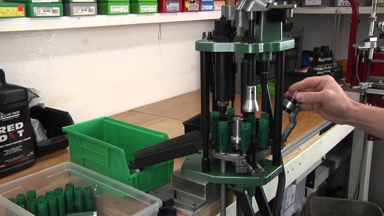 Rcbs Grand Shotshell Reloading Press Full Progressive
