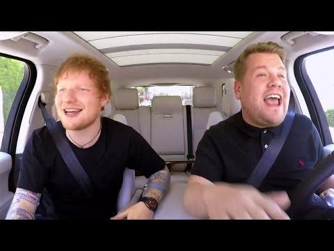 Ed Sheeran Raps With James Corden in Epic...