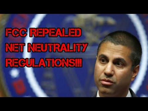 FCC repeals net neutrality regulations