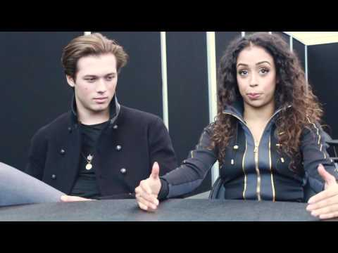 Leo Howard and Liza Koshy Freakish