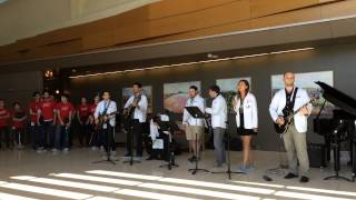 Stony Brook Hospital Lobby Interlude Session-Locked Out Of Heaven by medical students