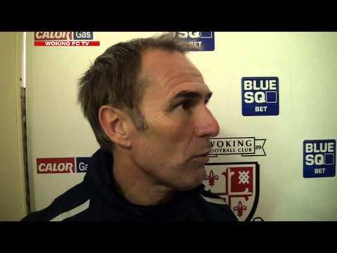 Woking 7-0 Farnborough (Steve Thompson Interview)