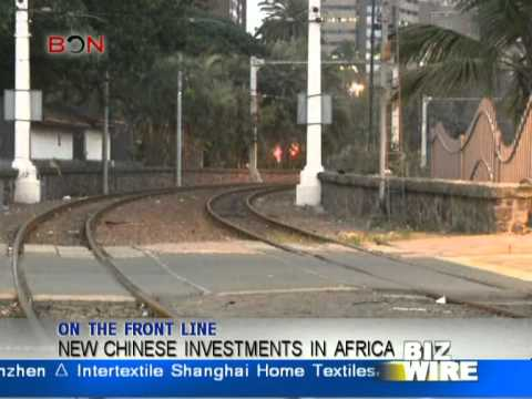 New Chinese investments in Africa - Biz Wire August 28 - BONTV