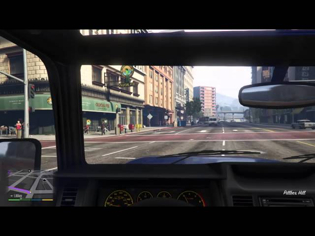 Grand Theft Auto V Découverte mode FPS PS4