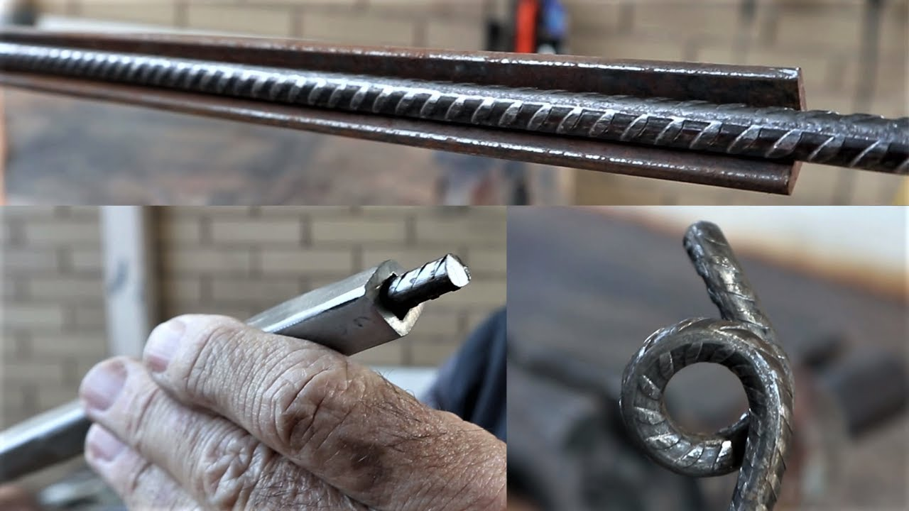 I make a Strong Square Tube to Bend the 7mm Steel Rebar for my Projects. MIG Welding Project