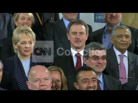 UK LIBYA GROUP PHOTO