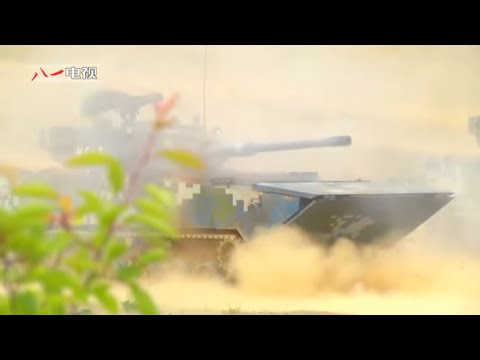 81 TV - China PLA Marines Various Military Assets Live Firing [480p]
