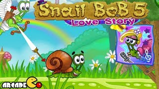 Snail Bob 5 Walkthrough Levels 11 - 20 HD