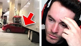 A Ford GT Could Go Under The Truck (Idiots In Cars #5)