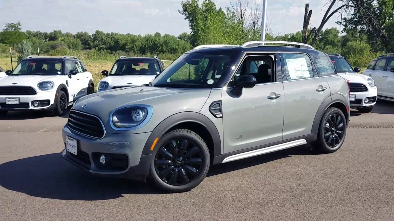 2017 Moonwalk Grey Mini Cooper Countryman All4 Youtube