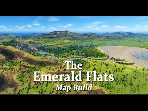 The Emerald Flats | Cities Skylines | Map Build