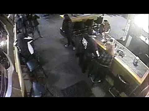 Outlaw bikers caught on video beating man in bar plead guilty