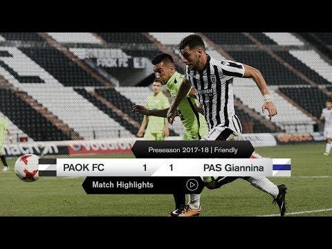 Τα στιγμιότυπα του ΠΑΟΚ-ΠΑΣ Γιάννινα - PAOK TV