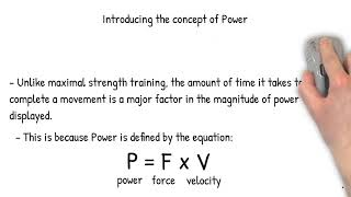 Understanding and Training for Power