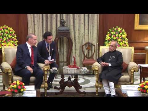 President of the Republic of Turkey call on the President - 01-05-17