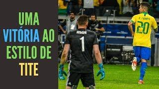 Brasil, pragmático, elimina a Argentina jogando ao estilo de Tite. Você acha que atuar assim basta?