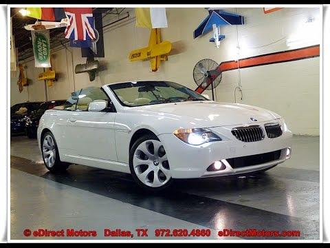 2006 bmw 650i sport convertible 6 speed edirect motors youtube rh youtube com 2006 BMW 650I Convertible Sale 2007 BMW 650I Convertible Problems