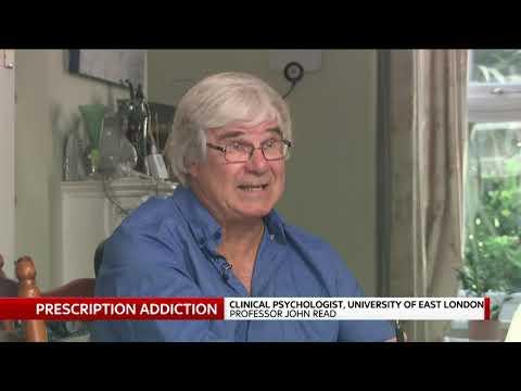 Prescription Medication Dependence Professor John Read September 2019