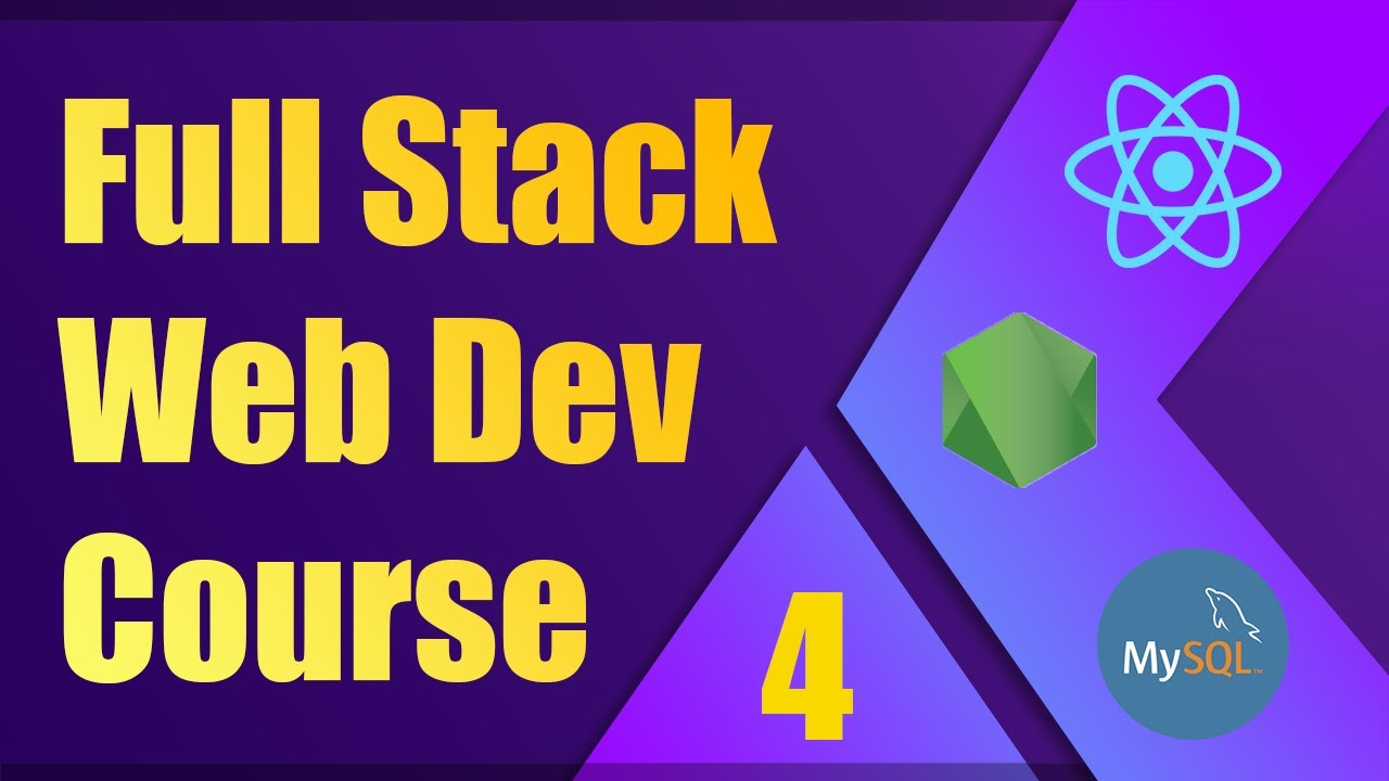 Full Stack Web Development Course [4] | ReactJS, NodeJS, MySQL - Form Validation