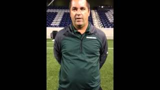 Michigan State Soccer - Coach Rensing interview at #2 Creighton 9/24/2013