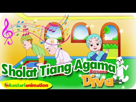 SHOLAT TIANG AGAMA  - Lagu Anak Indonesia - HD | Kastari Animation Official