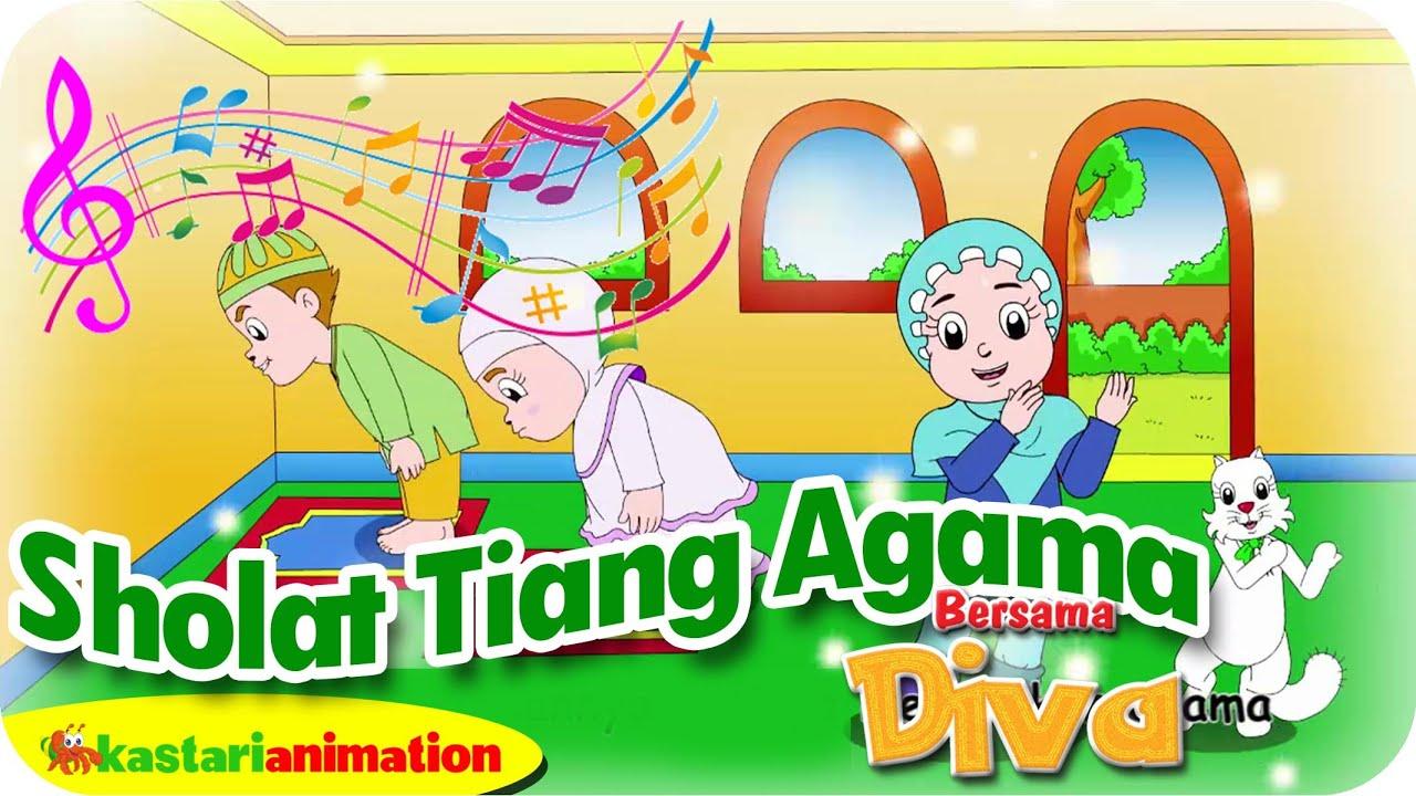 SHOLAT TIANG AGAMA  - Lagu Anak Indonesia - HD | Kastari Animation Official