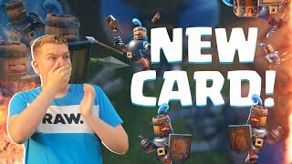 NEW CARD! 12-0 Royal Recruits Challenge LIVE Gameplay - Clash Royale