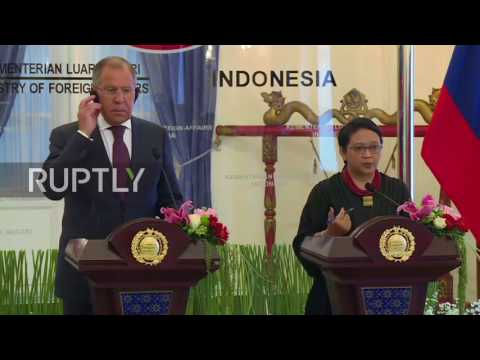 Indonesia: Bilateral agreement on international cooperation signed between Lavrov and FM Marsudi