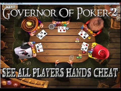 Governor of poker 2 cheats money android how to play poker cash games online