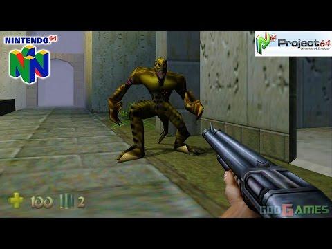Turok 2: Seeds of Evil - Gameplay Nintendo 64 1080p (Project 64)