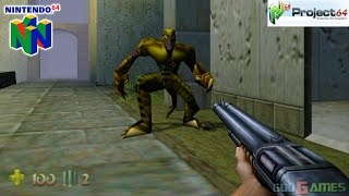 Turok 2: Seeds of Evil - Gameplay Nintendo 64 1080p (Project 64)(Turok 2: Seeds of Evil - Gameplay Nintendo 64 1080p (Project 64) Visit us at http://www.godgames-world.com Turok 2: Seeds of Evil is a first-person shooter ..., 2015-02-08T18:19:18.000Z)