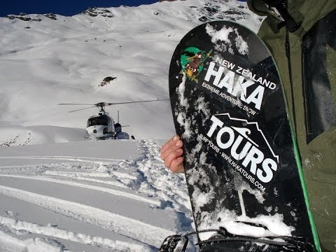 New Zealand Snow Tours | Skiing and Snowboarding Tour Video