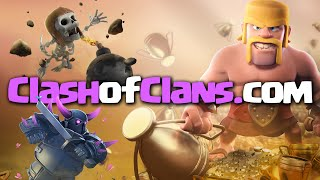 Novidade Mega Ultra TOP - Novo Site OFICIAL do Clash of Clans