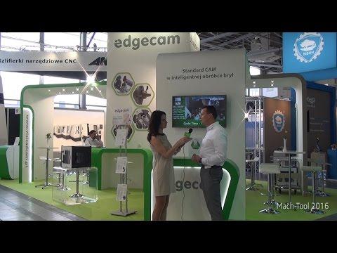 Edgecam na Mach Tool 2016