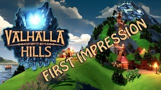 Valhalla Hills First Look Gameplay Impression Part 1 Lets Play Review 1080p60fps