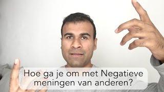 Overwin Negatieve Opmerkingen van Anderen