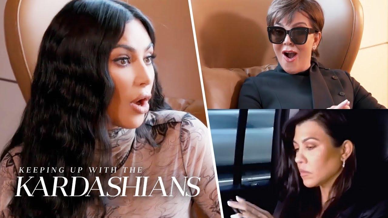 Kim Kardashian Calls Kourtney a