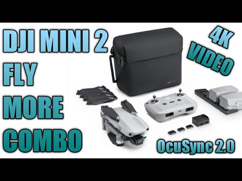 DJI MINI 2 FLY MORE COMBO | 4K COMPACT DRONE | OCUSYNC 2.0 | FLY AS YOU ARE!