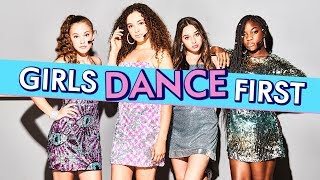 Girls Here First Q&A - Favourite Dances | Almost Never | CBBC