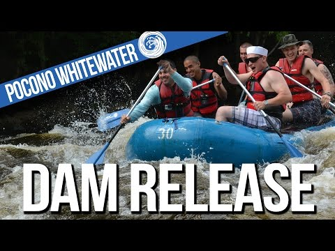 Dam Release Whitewater Rafting with Pocono Whitewater